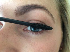 Påførelse af mascara