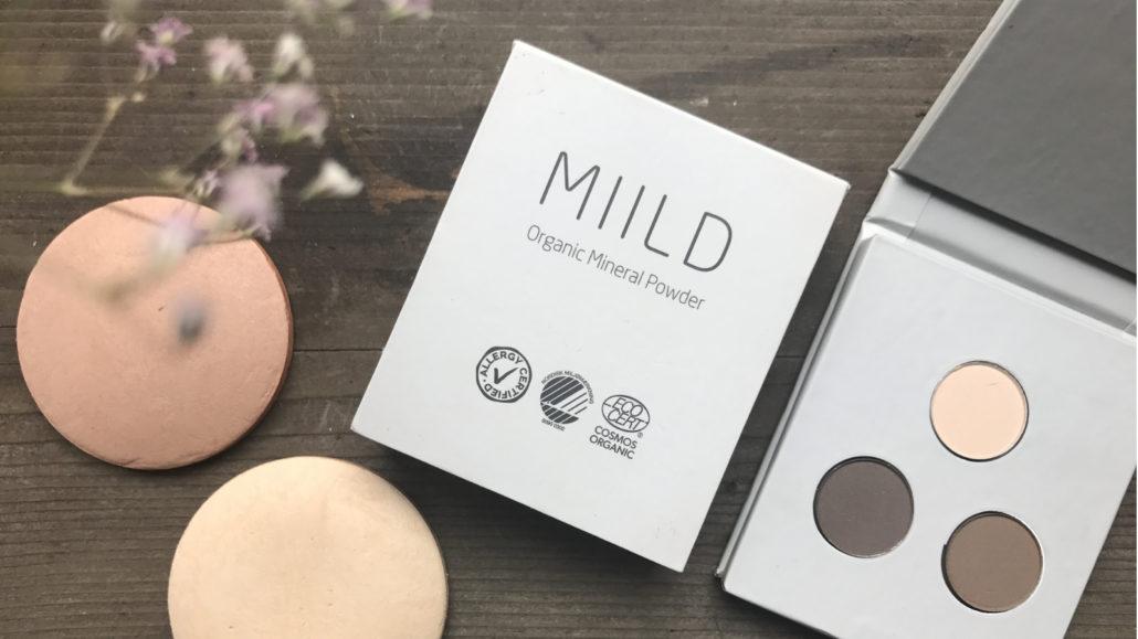 Holdbar makeup af Miild